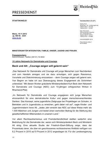 Staatskanzlei Rheinland-Pfalz (PDF; 181KB) - Netzwerk für ...