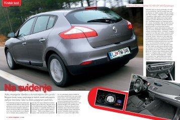 KT Renault Megane Berline.indd - Avto Magazin