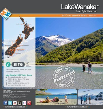 LWTOfficial Visitor Guide 2013 - Lake Wanaka