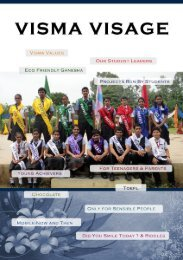VlSMA VISAGE - Vrajbhoomi International School