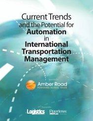 International Transportation Management - Peerless Research Group