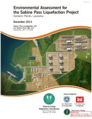 Sabine Pass Liquefaction Project - Office of Fossil Energy - U.S. ...