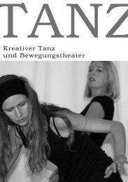 Kreativer Tanz und Bewegungstheater - Regina Schreiber