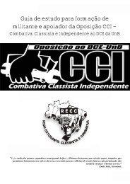guia de estudo para formação de militante e apoiador da oposição cci