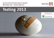 Testing 2013 - SwissQ