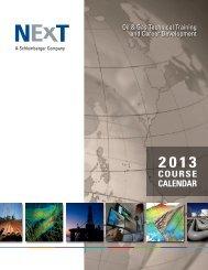 A Schlumberger Company - NExT - Petroleum Industry Training
