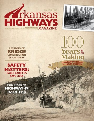 March 2013 - Arkansas State Highway and Transportation Department