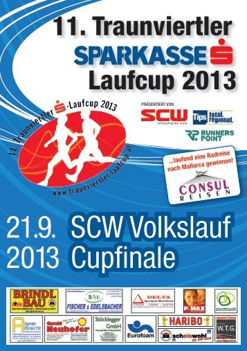 SCW Volkslauf Cupfinale 21.9. 2013 - Shoppingcity Wels