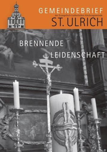 Ostern 2013 - Evangelisch St.Ulrich Augsburg