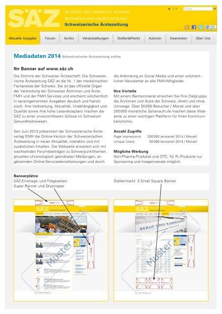 Online Mediadaten 2014 - EMH