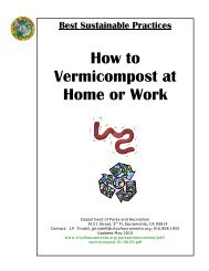 How to Vermicompost at Home or Work - NC Dept. of Environment ...