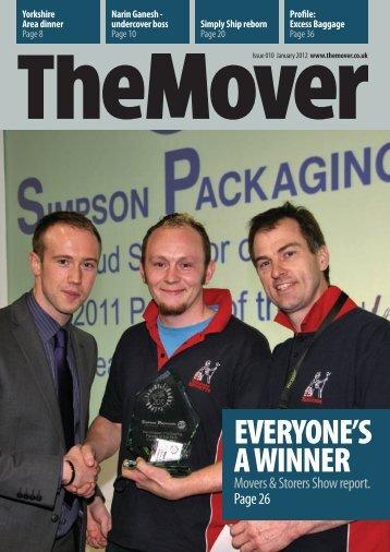 The Mover Magazine -Jan 2012