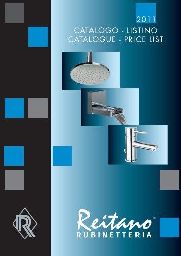 catalogo - listino catalogue - price list 2011 - SAPHO koupelny