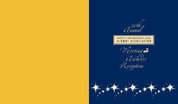 2009-2010 UMUC Alumni Association Annual Report