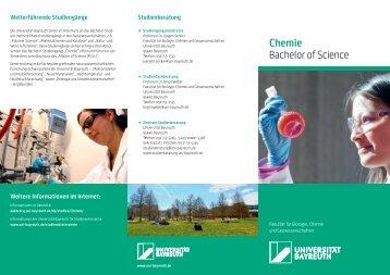 Chemie - Zentrale Studienberatung - Universität Bayreuth