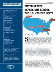WATER HEATER EXPLOSIONS ACROSS THE U.S. - WHERE NEXT?
