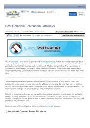 Best Romantic Ecotourism Getaways | BootsnAll - Inkaterra