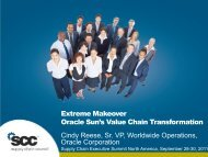 Extreme Makeover Oracle Sun's Value Chain Transformation Cindy ...