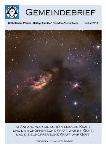 Dokument herunterladen - Heilige Familie Zschachwitz
