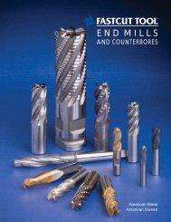 END MILLS - Fastcut Tool
