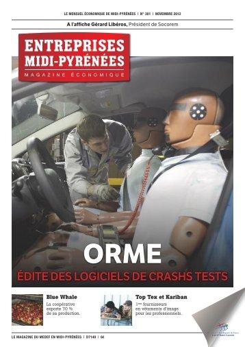 édite des logiciels de crashs tests - CLER Verts