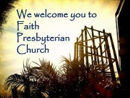 TT March 19 2013.pdf - Faith Presbyterian Church