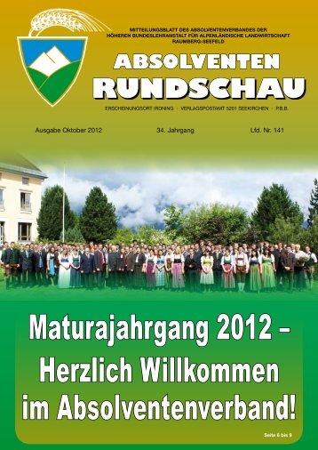 AR141 - Absolventenverband Raumberg - Seefeld