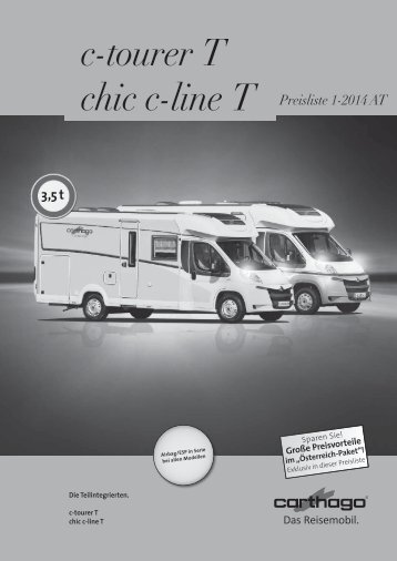 c-tourer T chic c-line T - Camping-world.at
