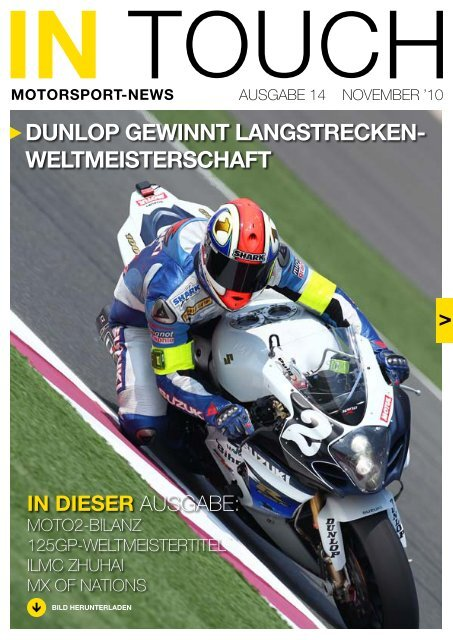 In Touch PDF - Dunlop