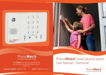 Smart Security System User Manual