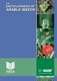 encyclopaedia of arable weeds - BASF A/S
