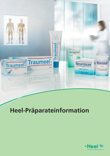 Heel-Präparateinformation