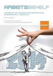 Steuerliche Neuerungen - ÖGWT Österreichische Gesellschaft der ...