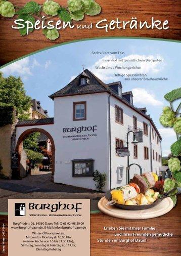 Deutsch (pdf, Größe: 5,8 MB) - Burghof-Daun