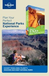 National Parks Experience - Lonely Planet