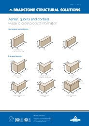 Ashlar, quoins & corbels - Aggregate Industries