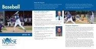 Baseball Program Snapshot - Luther College