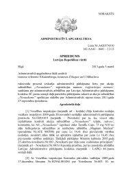 Lieta Nr - Latvijas Tiesu Portāls