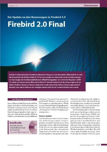 Firebird 2.0 Final