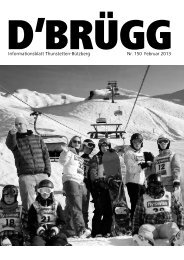 Informationsblatt Thunstetten-Bützberg Nr. 150 Februar 2013