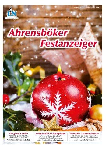 Ahrensböker Festanzeiger - LN-Magazine