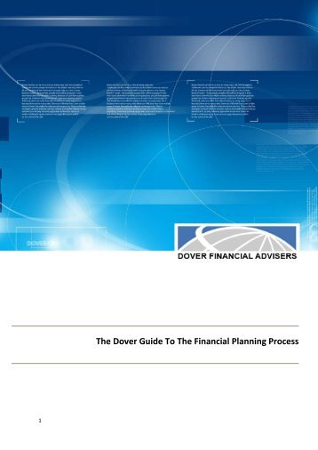 The Dover Guide To The Financial Planning Process - Legal E Docs