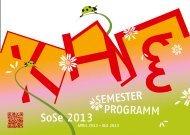 KHG Sommersemester 2013 - Katholische Hochschulgemeinde ...
