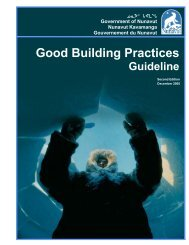 Good Building Practices - Community and Government Services