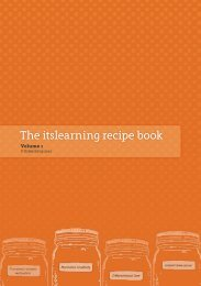 The itslearning recipe book