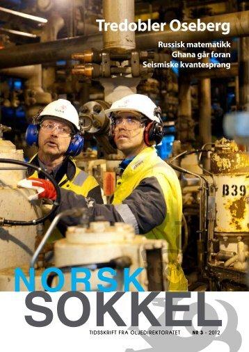 Norsk Sokkel nr.3 - 2012 - Oljedirektoratet