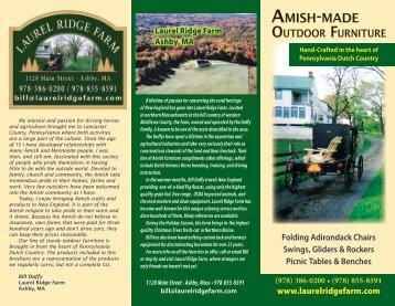 Brochure - Laurel Ridge Farm