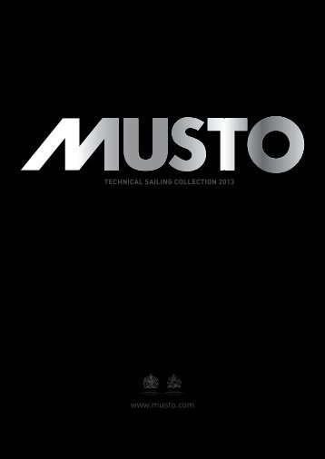 online 2013 catalogue - Musto