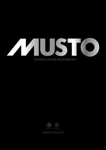 online 2013 catalogue - Musto