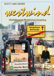 Nr. 6 / 7 · Juni / Juli 2013 Stadtteilmagazin für Osdorf und ... - Westwind